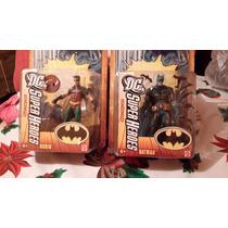 Batman Y Robin Dc Heroes En Blister Sellado K-nitoys