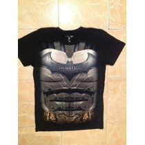 Batman Playera Injustice Talla S,m,lyxl Original Dc Comics