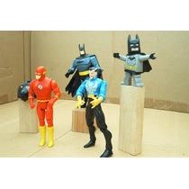 Lee Anuncio X Lote 5 Figura Flash & Batman Varias Series Dc