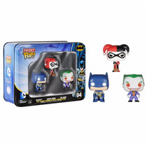 Funko Pocket Pop Dc Comics Batman Harley Quinn The Joker 04