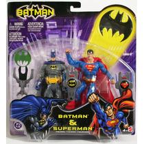 Batman & Superman Dc Justice League Mattel 2003