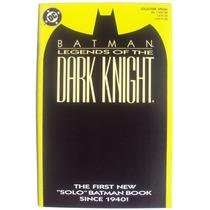 Legends Of The Dark Knight 1 (dc 1989) Variante Verde.