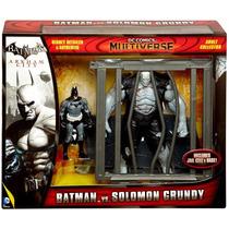 Batman Vs Solomon Grundy Arkham City Dc Comics Multiverse