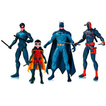 Set De 4 Son Of Batman Deathstroke Y Robin Damian Wayne Dc