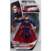 Superman Dc Total Heroes 6 Pulgadas Mattel Comics 2014
