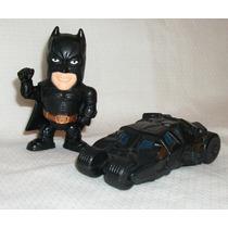 Figura De Batman Y Tanque Batimovil Batmobile Toys Froy Lbf
