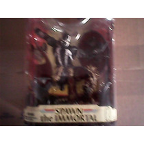 Spawn Inmortal Mcfarlane Marvel Legends Ironman Black 001201