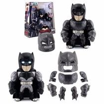 Batman Armore Metal Die Cast Dc Comic 14cm 9 Piezas Luz