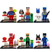 Increible Set Heroes Dc Minecraft Para Armar (tipo Lego)