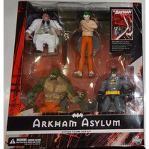 ### Dc Direct Arkham Asylum Box Set Joker, Killer Croc ###