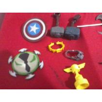 Baf, Piezas. Dc Y Marvel. Accesorios Y Armas.marvel Legends