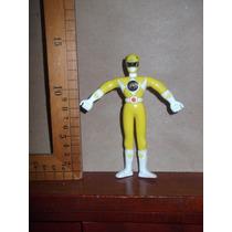 Yellow Power Ranger,figura Saban 2007 Flexible