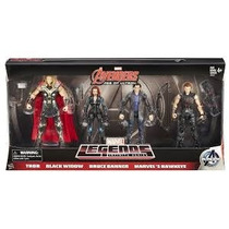 Avengers Marvel Legends Era Ultron Thor Hawkeye Black Widow
