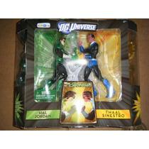 Dc Universe Linterna Verde Hal Jordan Vs Sinestro Toysrus