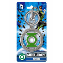 Llavero Dc Colored Green Lantern Pewter Key Ring