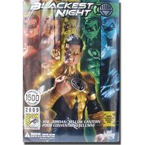 Sdcc 2009 Blackest Night Yellow Lantern Hal Jordan