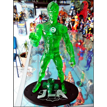 Hal Jordan,dc Direct,traslucido,loose,base Y Linterna,17 Cm
