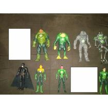 Lote De 9 Linternas Verde Green Lantern Kilowog Hal Jordan
