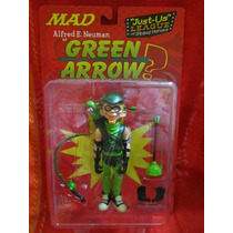 Dc Direct Mad Magazine Alfred E. Newman Green Arrow