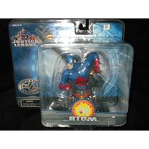 Atom Figura Mini Busto Liga De La Justicia Dc Vv4