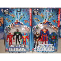 Justice League Unlimited Red Tornado, Superman, Booster Gold