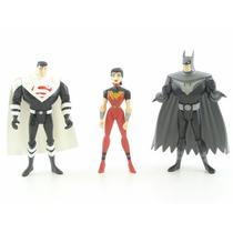 Dc Justice League Unlimited Superman Batman Wonder Woman