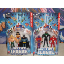 Justice League Unlimited Wonder Woman, Batman, Aquaman ---