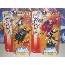 Dc Justice League Unlimited Batman Superman Aquaman Zatanna