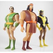 Dc Universe Justice League Unlimited Black Vulcan Samurai --