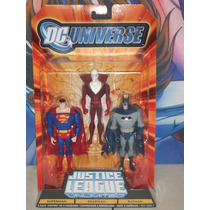 Dc Universe Justice League Unlimited Superman Deadman Batman