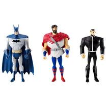 Dc Universe Justice League Unlimited Batman Vandal Superman
