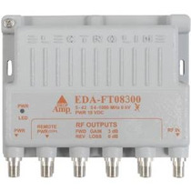 Electroline Eda-ft08300 8 Port Tv Amplificador De Señal / Am