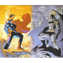 Batman 608 & Superman Serie Hush Posters By Jim Lee