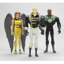 Dc Justice League Unlimited Green Lantern Hawkgirl The Ray