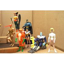Lee Anunc Lote Liga D La Justicia Brainiac C 7 Figura Mattel