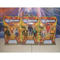 Justice League Unlimited Flash Firestorm Goldface X9 Oferta