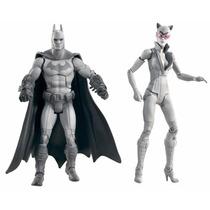 Batman Legacy Arkham City Batman And Catwoman Dc Classics