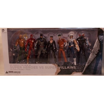 Dc Collectibles Batman Arkham The New 52 Heroes Vs Villanos