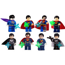 Set De Super Man Tipo Lego