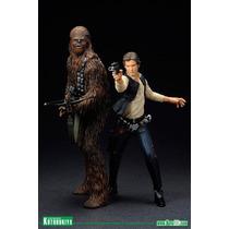 Han Solo Chubaca Kotobukiya, Star Wars, Hasbro Bandai