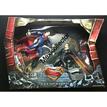 Sdcc 2013 Dc Movie Masters Man Steel Superman Vs Zod Box Set