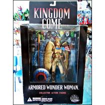 Kingdom Come,armored Wonder Woman,nueva Sellada,16 Cm,dc.