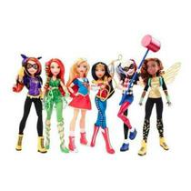 Dc Super Hero Girls Mattel Paquete Con 6 Piezas