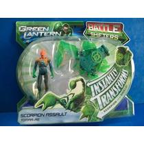 Tomar-re Scorpion Assault Linterna Verde Mattel