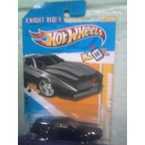 Hotweels Kitt El Auto Increible Ligthing Tarjeta Americana