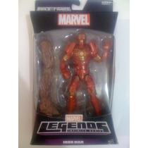 Marvel Legends. Capitán América, Iron Man. 13 Cm. Hasbro Hm4