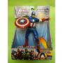 Capitan America Avengers - Ataque Con Escudo !! S U P E R !!