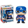 Funko Pop Civil War: Captain America Mascara De Latex 125