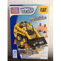 Mega Bloks World Builders Cat Mini Cargador 131pzs Con 2 Fig