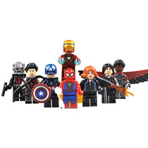 Set Sw1 Capitan America Civil War Compatibles Con Lego